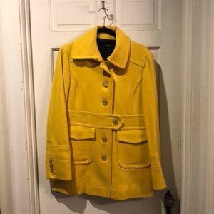 J Crew Yellow Pea Coat